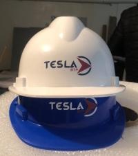 casque personnalisé maroc casque de construction imprimé avec logo sérigraphie découpe