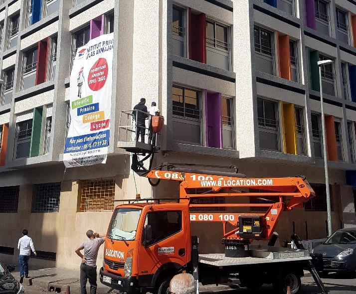 Maintenance signalétique publicitaire au maroc entretien nettoyage réparation Maroc