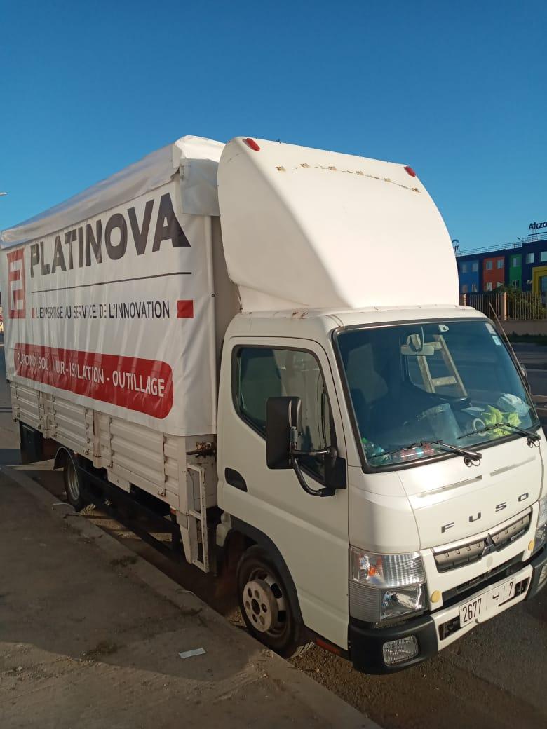 habillage de camion maroc marquage de véhicule
