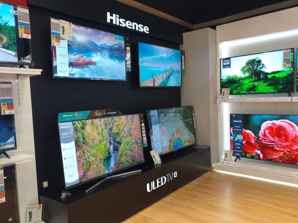 stand d'exposition de TV fabrication de présentoir au maroc